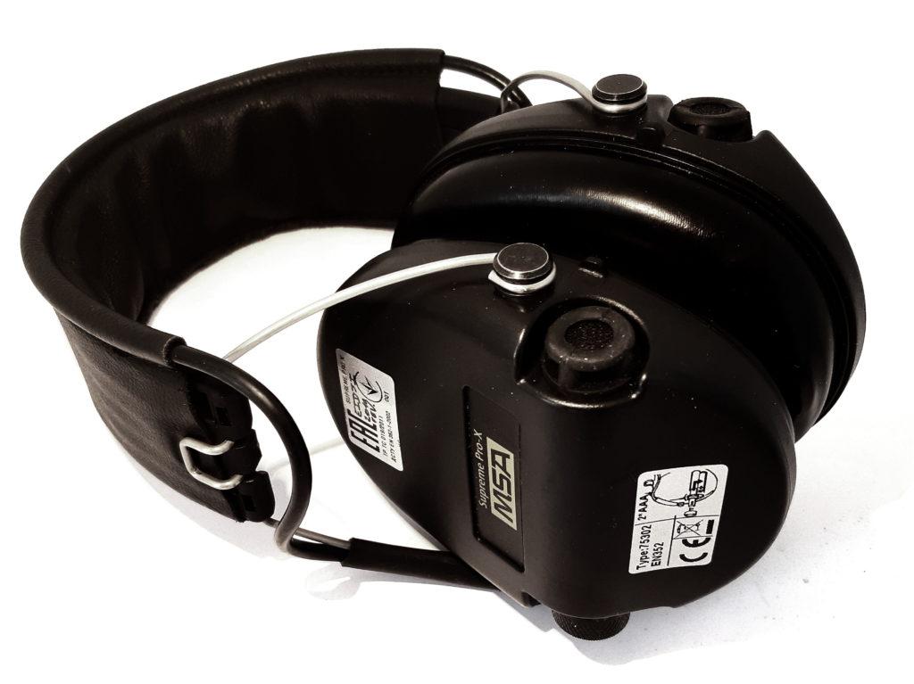 Casque anti-bruit MSA sordin suprême pro X